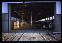 Image of [All-weather meat loader shed construction, Timaru] -
