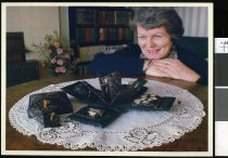 Image of Jenny Anderson, embroiderer - Timaru Herald Photographs, Personalities Collection