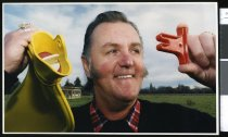 Image of Ken Arnold, inventor - Timaru Herald Photographs, Personalities Collection