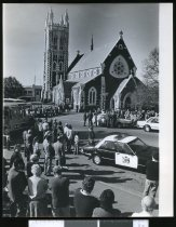 Image of Sir Basil Arthur's funeral, St Mary's Church, Timaru. - Timaru Herald Photographs, Personalities Collection