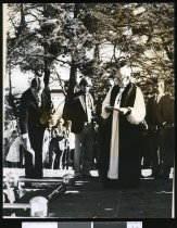 Image of Sir Basil Arthur's funeral - Timaru Herald Photographs, Personalities Collection