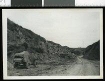 Image of [Timaru Harbour Board's quarry at Gleniti, Timaru] -