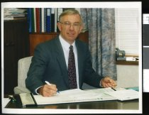 Image of Les Baker, Timaru District Council - Timaru Herald Photographs, Personalities Collection