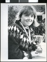 Image of Michelle Baker  - Timaru Herald Photographs, Personalities Collection