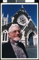 Image of David Balfour, Vicar of St Mary's Timaru - Timaru Herald Photographs, Personalities Collection