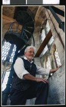 Image of David Balfour, Vicar of St Mary's, Timaru - Timaru Herald Photographs, Personalities Collection