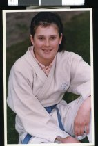 Image of Mandy Barrett - Timaru Herald Photographs, Personalities Collection