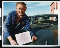 Image of John Beange, Aorangi Panelbeaters - Timaru Herald Photographs, Personalities Collection