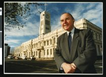 Image of Ray Bennett - Timaru Herald Photographs, Personalities Collection