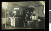 Image of Stores, Sling Camp, England, 1918 -