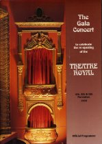 Image of The Gala Concert to celebrate the re-opening of the Theatre Royal -