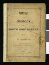 "Image of Notes on the geology of South Canterbury : reprinted from the ""Timaru Herald""                                                                                               - Hardcastle, John, 1847-1927"