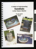 Image of A guide to understanding sundials in the Timaru District - Cowan, J Reid