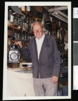 Image of Clarrie Blackwood - Timaru Herald Photographs, Personalities Collection