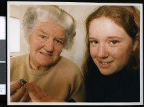 Image of Joan and Rachel Blissett - Timaru Herald Photographs, Personalities Collection
