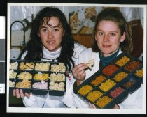 Image of Timaru Milling's Kylie Smith & Julie Boulton - Timaru Herald Photographs, Personalities Collection