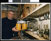 Image of Paul Bowman, Scarlett Hydraulics manager - Timaru Herald Photographs, Personalities Collection