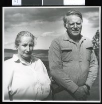 Image of Peter and Ann Boys  - Timaru Herald Photographs, Personalities Collection