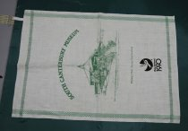 Image of Towel, Tea - Teatowel produced for New Zealand's sesqui-centennial in 1990.