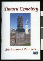 Image of Timaru Cemetery: stories beyond the stones - McKenzie, Alan