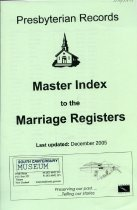 Image of Presbyterian records : master index to the marriage registers -