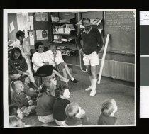 Image of Jeff Brown, Principal Washdyke School - Timaru Herald Photographs, Personalities Collection