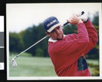 Image of Mark Brown, golfer - Timaru Herald Photographs, Personalities Collection