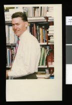 Image of Nigel Brown, librarian - Timaru Herald Photographs, Personalities Collection