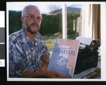 Image of Geraldine Author John Brundall - Timaru Herald Photographs, Personalities Collection