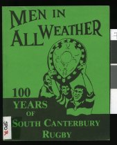 Image of 100 years of South Canterbury rugby  - Bowden, Rex