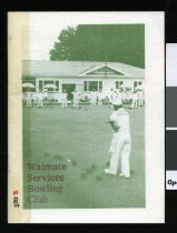 Image of The first fifty years : Waimate services bowling club. - Hewitson, Wally