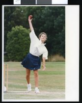Image of Clare Burgess, cricketer - Timaru Herald Photographs, Personalities Collection