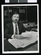 Image of Kerry Burke - Timaru Herald Photographs, Personalities Collection