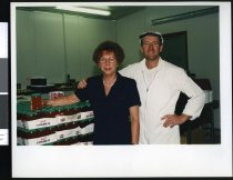 Image of Raylene and Roger Burrowes, jam makers - Timaru Herald Photographs, Personalities Collection