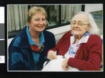 Image of Kirstie Butcher and Eileen Bennett - Timaru Herald Photographs, Personalities Collection