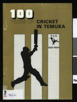 Image of 100 years of cricket in Temuka