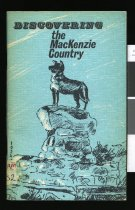 Image of Discovering the Mackenzie Country - Maxwell, James