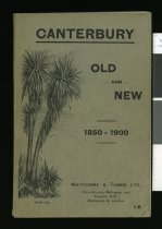Image of Canterbury old and new 1850-1900 : a souvenir of the jubilee -