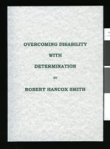 Image of Overcoming disability with determination - Smith, Robert Hancox 1938-2009