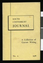 Image of South Canterbury Journal : a collection of current writings -