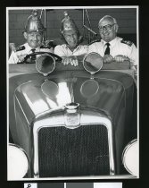 Image of Russell Carlaw, Allan Davidson, Bob Edmond - Timaru Herald Photographs, Personalities Collection