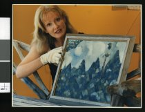 Image of Fiona Ciaran, director Aigantighe Art Gallery - Timaru Herald Photographs, Personalities Collection