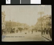 Looking northward along Stafford Street to the int...