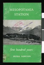 Image of Mesopotamia station : a survey of the first hundred years  - Newton, Peter
