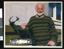 Image of Dave Collie, deer farmer - Timaru Herald Photographs, Personalities Collection