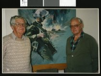 Image of Neil Prendergast and Gordon Cowling - Timaru Herald Photographs, Personalities Collection