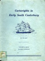 Image of Cartwrights in early South Canterbury - Provan, Margaret E