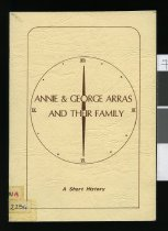 Image of Annie & George Arras and their family : a short history -