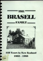 Image of The Brasell Family : 125 years in New Zealand 1863-1988      - McMillan, J Lyndsay