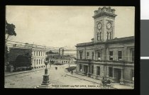 """Image of """"1537:  Public Library and Post Office, Timaru N.Z."""" -"""